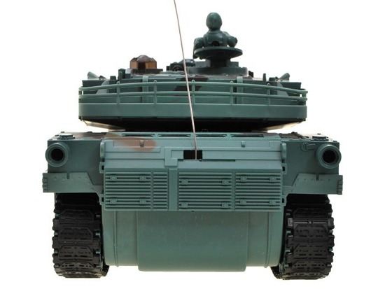 Remotely controlled TANK M1A2 camouflage forest RC0376