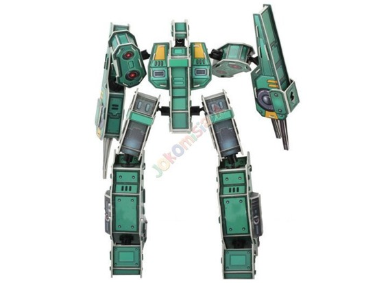 SCIENCE ROBOT SOLDIER DIY 3D PUZZLE ZA0846