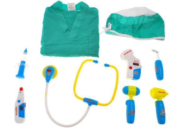 Set Doctor Costume doctor + accessories ZA1245