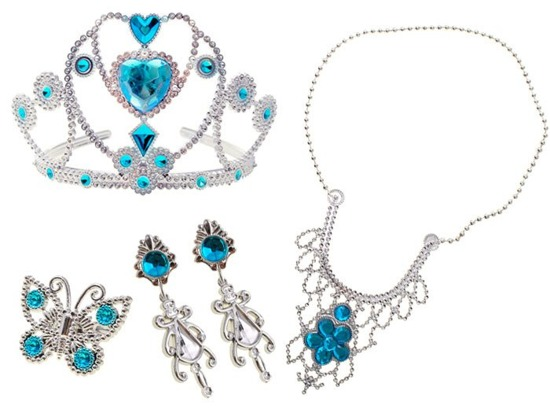 Set of crown Little Princess jewelry ZA1720