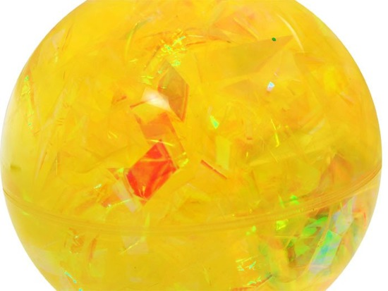 Shining gel rubber ball 10cm ZA1062