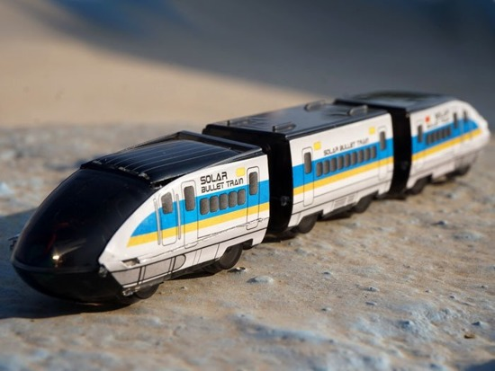 Solar Bullet Train TRAIN educational ZA1848