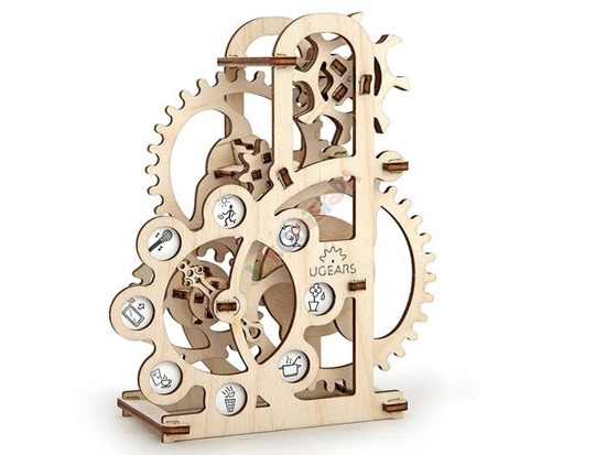 The dynamometer 3D Puzzle Wood GEARS ZA1453