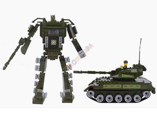 Transform Pads Warrior ATTACK 277 pcs. ZA0912