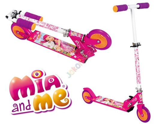 Two-wheeled collapsible scooter Mia & Me SP0314