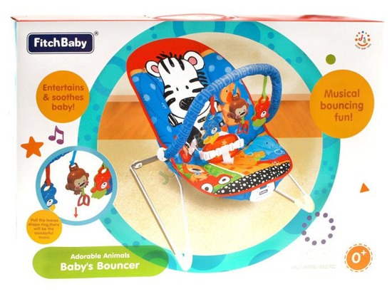 Vibrating bouncer chair ZA0871