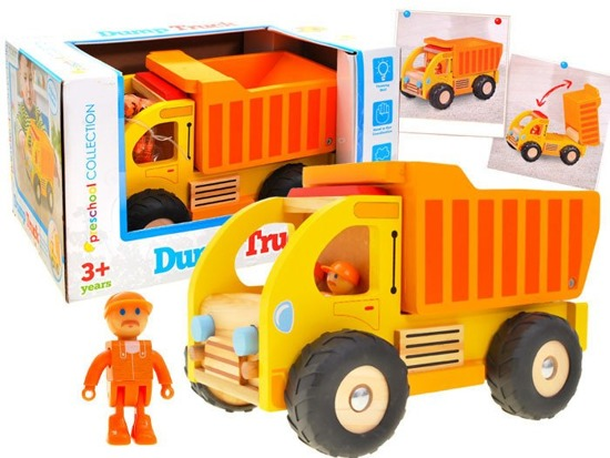Wooden TIPPING GARBAGE TRUCK ZA1810
