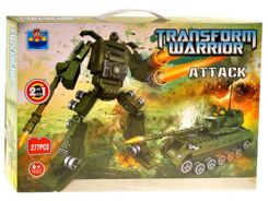 Klocki Transform Warrior ATTACK 277 elem. ZA0912