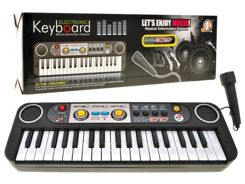 Organy Keyboard 39 keys mikrofon  IN0056