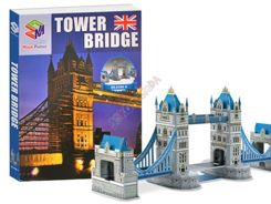 Puzzle 3D Tower Bridge most zwodzony 41ele. ZA1345