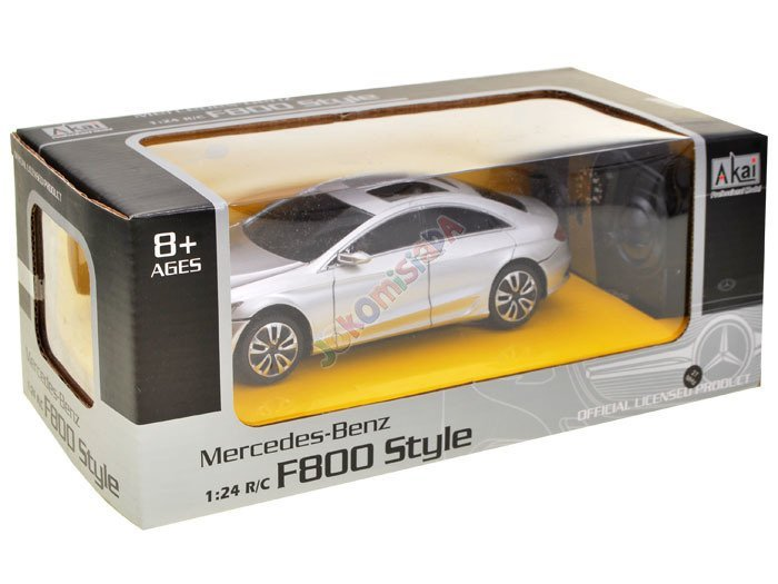 Auto sedan Mercedes Benz F800 Style 1:24 RC0222