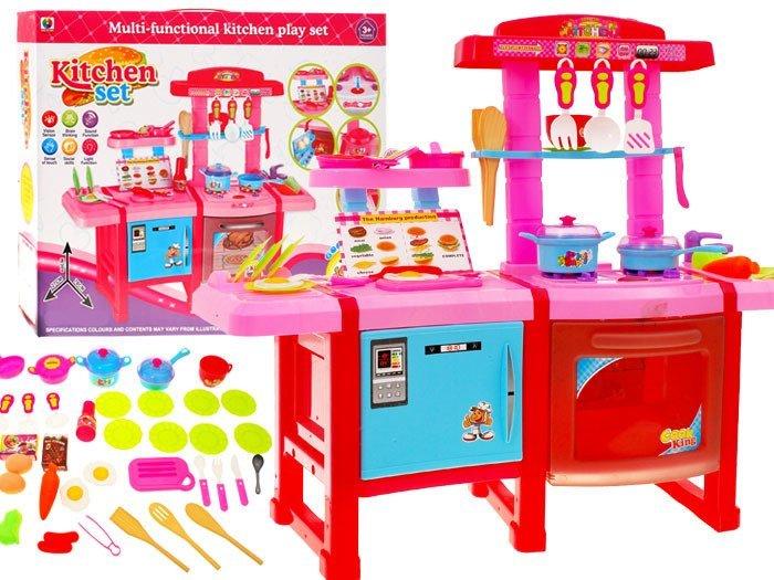 Duża kuchnia dla dzieci lodówka piekarnik ZA1100  Zabawki dla dzieci  agd k   -> Kuchnia Dla Dzieci Gra Za Darmo