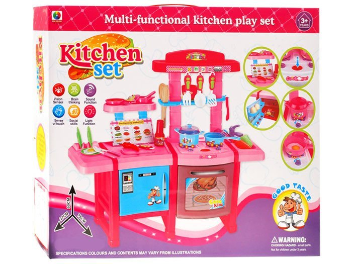 Duża kuchnia dla dzieci lodówka piekarnik ZA1100  Zabawki dla dzieci  agd k