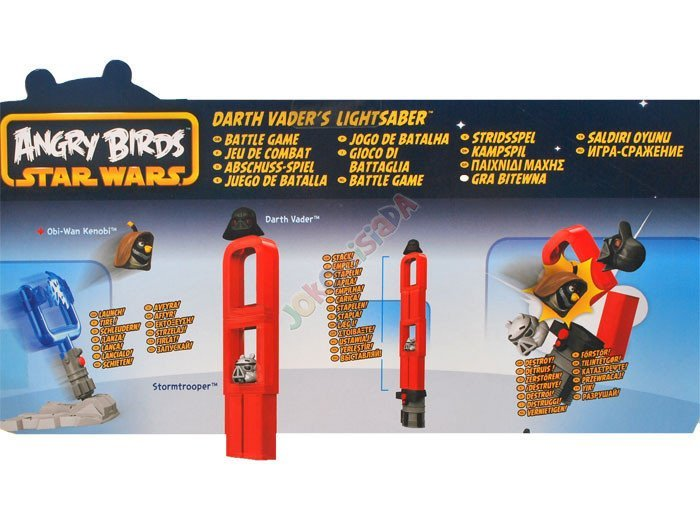 Hasbro ANGRY BIRDS STAR WARS DARTH VADER'S ZA0968
