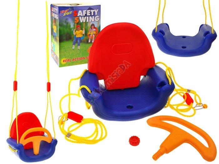 Huśtawka krzesełko deska kubełkowa 3w1 SP0298