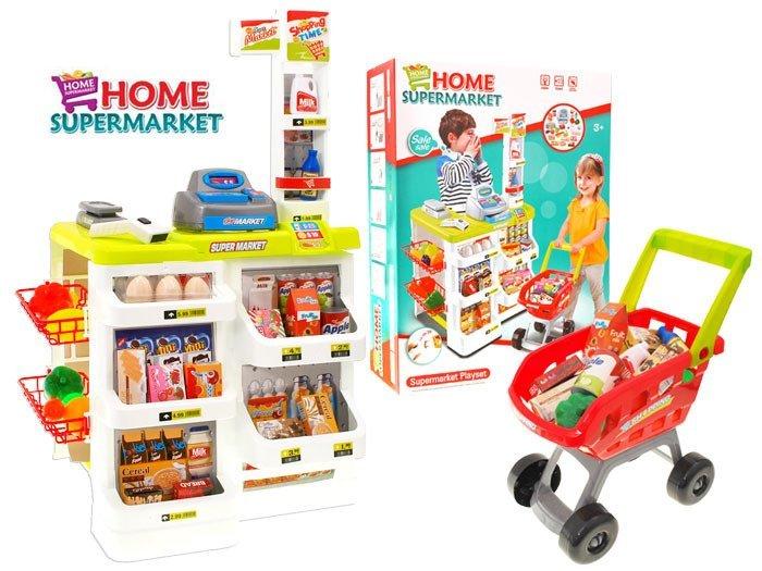 Kasa Supermarket W Zek Sklep Ze Skanerem Za1172 Zabawki Dla Dzieci Agd Kuchnie Dla Dzieci 3
