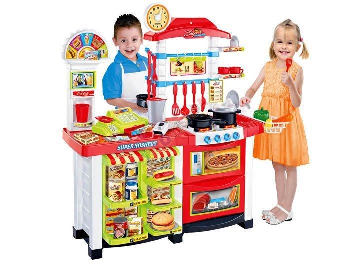 Kuchnia + sklep + kasa Duża Gastronomia ZA0803  Zabawki dla dzieci  agd kuc   -> Kuchnia Dla Dzieci Gra Za Darmo