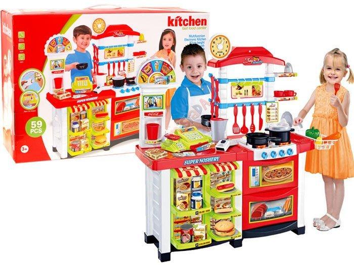 kuchnia sklep kasa du a gastronomia za0803 zabawki dla dzieci agd kuchnie dla dzieci 3 4