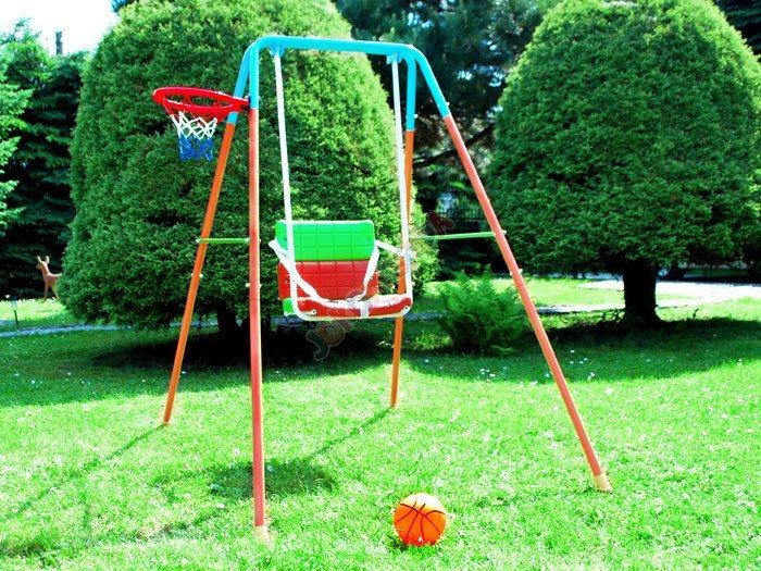 rozk adana metalowa hu tawka z koszyk wk za1018 sport dla dzieci hu tawki dla dziewczynek. Black Bedroom Furniture Sets. Home Design Ideas