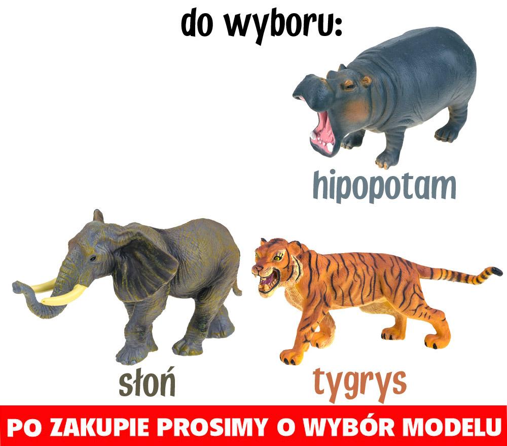 Figurki safari zwierzęta dzikie