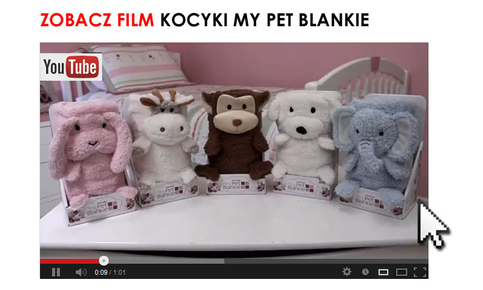 My Pet Blankie kocyki