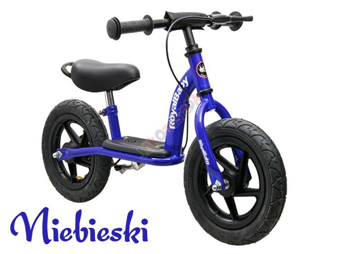 rowerek biegowy pompowane koła