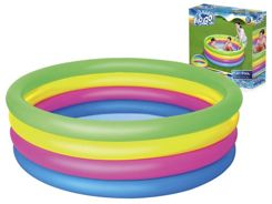 Bestway Rainbow inflatable paddling pool 157 x 46cm 51117