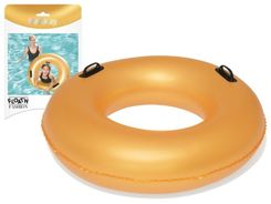 Bestway inflatable circle GOLD + handles 0,91m 36127