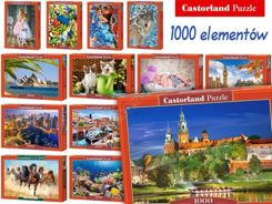 Castorland Puzzle 1000 elements. Beautiful images CA0017