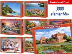 Castorland Puzzle 3000 elements. wonderful paintings CA0020