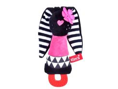 Colorful rustling squeak bunny ZA3013