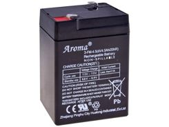 Gel battery for 6V 4.5Ah SER045 cars