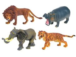 Hand-painted figures Animals Safari ZA2219