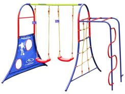 Hudora set PLAYGROUND swing wall 64019