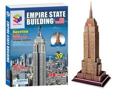 3D Puzzle Empire State USA 39 ele. ZA1346