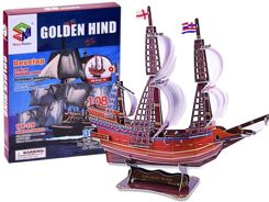 3D Puzzle ship Golden Hind ship 108 ele ZA2600