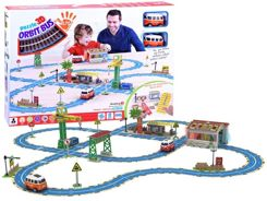 3D puzzles build track route + 2 toy cars characters ZA2628