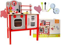 A large wooden kitchen for the kids + pots ZA1411