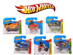 A series of small toy cars Hot Wheels ZA0401