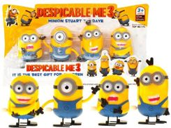 A set of figures 4 pcs. Screw-Minionki ZA1119