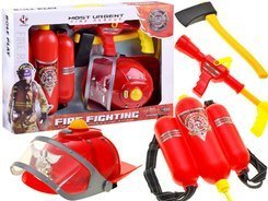 A set of firefighter helmet light sound extinguisher ZA1678
