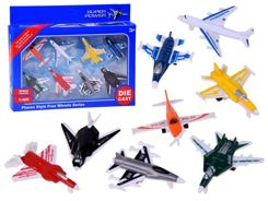 Aircraft set Die Cast Fighters 8pcs ZA2387
