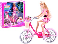 Anlily Doll on the Bike Retro bicycle basket ZA2455
