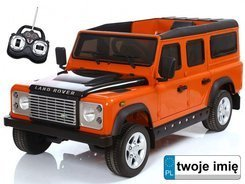 Auto LAND ROVER 2x 35W Car on remote control PA0100