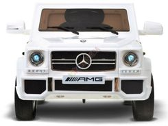 Auto MERCEDES G65AMG soft wheels White PA0122
