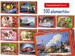 Beautiful Castorland Puzzle 500 items large selection CA0016