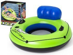 Bestway Large inflatable wheel with backrest 119 cm 43108