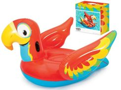 Bestway colorful inflatable parrot for swimming 41127
