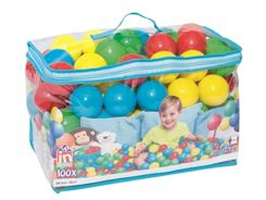 Bestway colorful pool balls 100pcs 52027