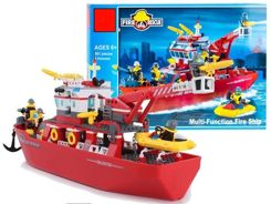 Block Toys BOAT fireman 361pcs FOR 2108